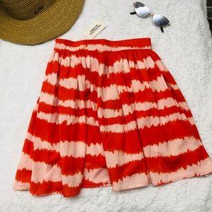 Forever 21 Orange loose skirt